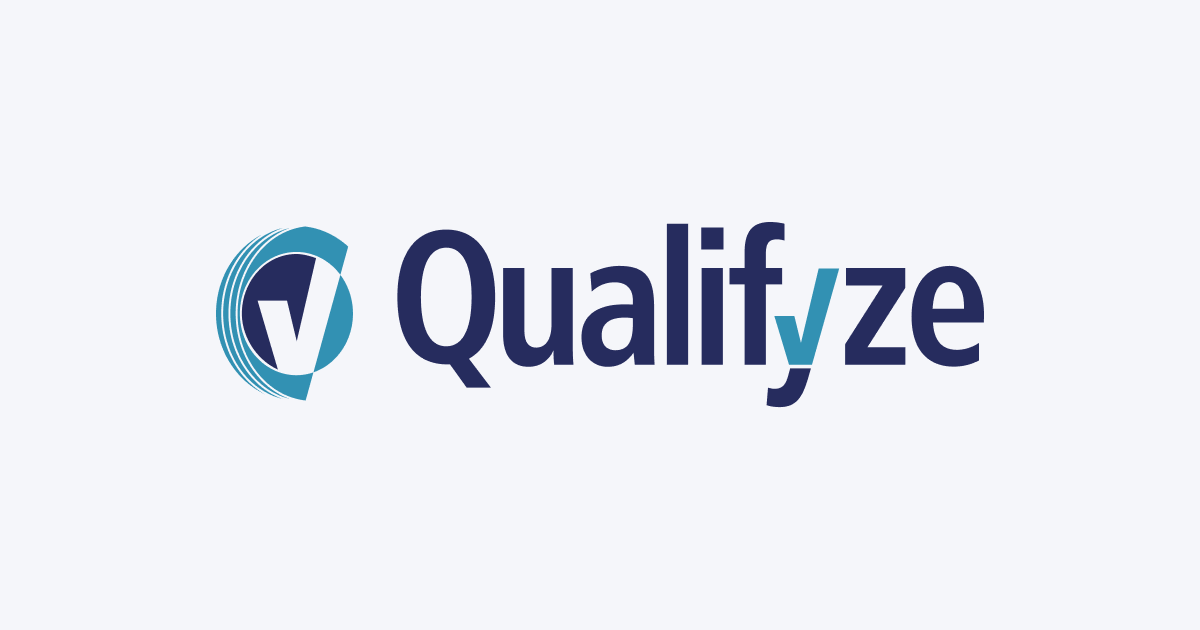 Logo of Qualifyze to illustrate their customer story