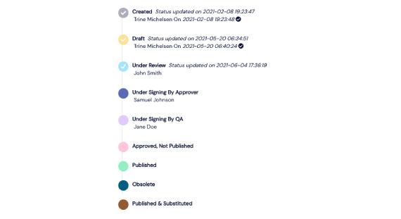 Screenshot of a Scilife's Platform workflow