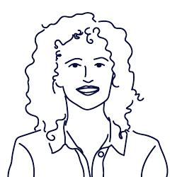 Hand drawn illustration of Dolors Teixidor, Marketing Manager at Scilife