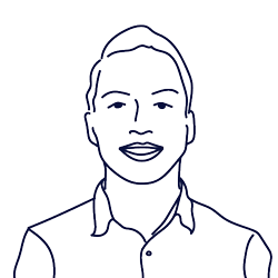 Hand drawn illustration of Jatin Dhoot, Product Manager of Scilife