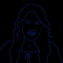 Hand drawn illustration of Jyotsana Kandani, HR Manager at Scilife