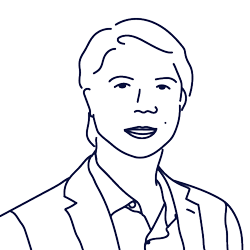 Hand drawn illustration of RJ Macasaet, COO of Scilife