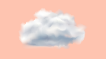Illustration of a cloud in pink background to illustrate data security concept in cloud-based applications | Scilife